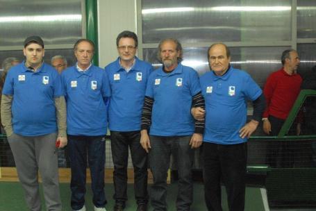 La squadra del Comune di Pistoia