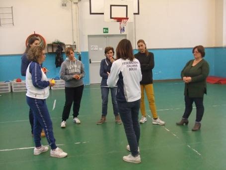 Lezione progetto Bocce tutti in gioco - Foto Stefano Bartoloni