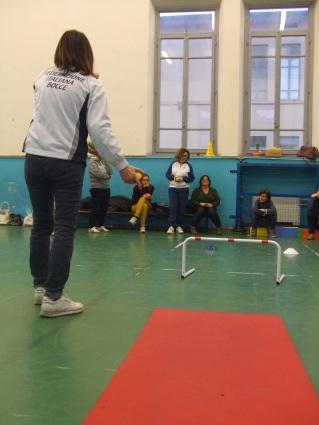 Altro momento di lezione del progetto Bocce tutti in gioco - foto di Stefano Bartoloni