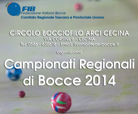 Campionati regionali 2014 Cecina immagine piccola