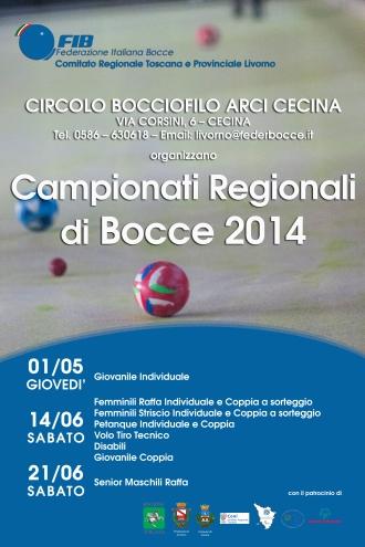 Campionati regionali 2014 Cecina Manifesto 3 date copy