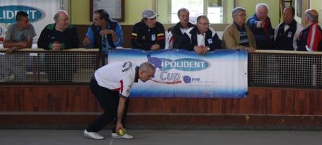 Un momento di gioco della Polident Cup a Monterotondo