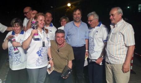 Foto di gruppo con Coppe