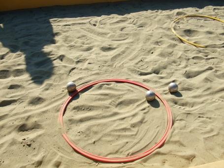 Bocce beach foto Enza Lombardi
