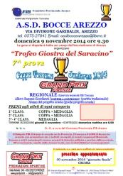 Coppa Toscana Juniores Trofeo Giostra del Saracino 2014