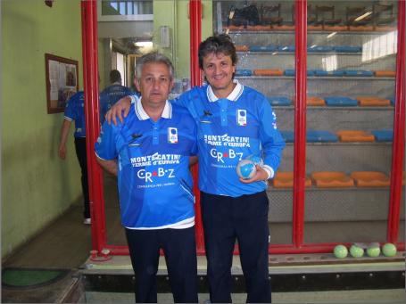 Walter Barilani e Roberto Signorini