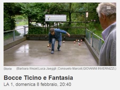 Bocce Ticino Fantasia