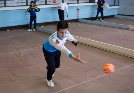 Momento di gioco ai Campionati regionali giovanili 2015 - foto Rosella