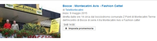 Montecatini Youtube