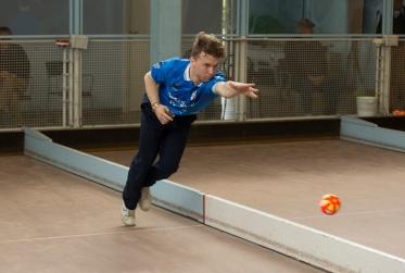Niko Bassi ai Campionati regionali giovanili 2015 - foto Rosella
