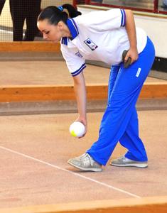 Sonia Marzullo in azione