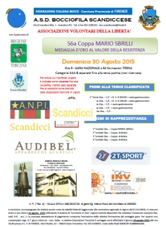 Manifesto 56a Coppa Mario Sbrilli