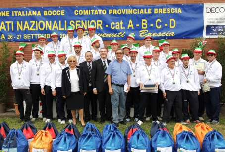 Brescia gruppo tricolori