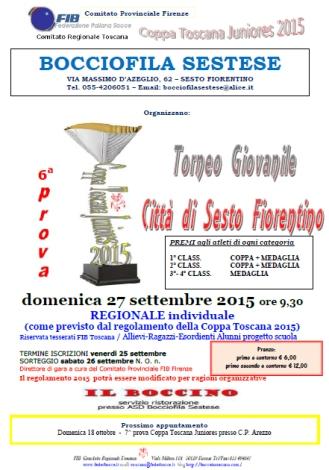 Coppa Toscana Sestese 2015