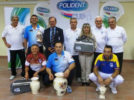 I vincitori della Polident Cup a Castenaso