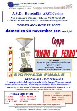 Coppa Omino di Ferro Finale Coppa Toscana 2015