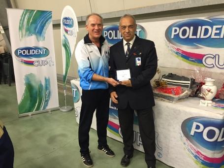 PCUP Pieve Claudio Mazzei e il direttore di gara Marco Rossi
