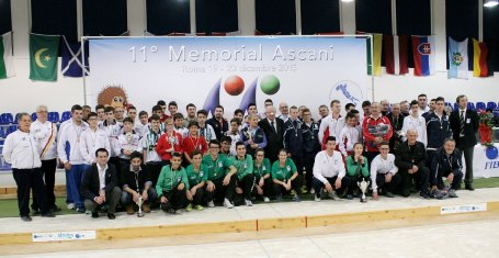 Foto di gruppo 11° Memorial Ascani - via federbocce.it