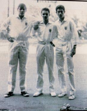 """I """"Ragazzi di via Paisiello"""" in una immagine degli anni '50"""