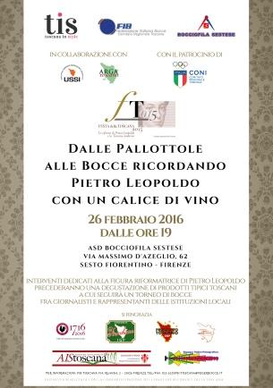 Manifesto Pietro Leopoldo small