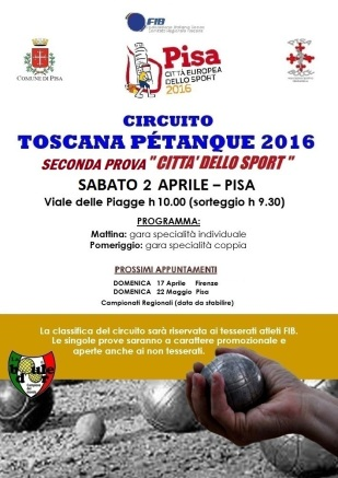 VOLANTINO PETANQUE_PISA BOCCE_2APRILE