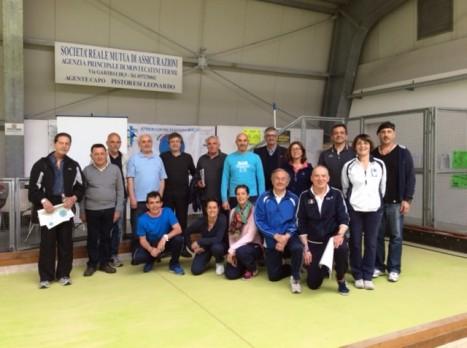 Gruppo del Corso educatori sportivi scolastici 2016 a Pieve a Nievole