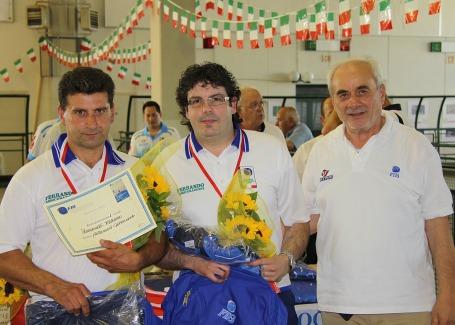 Frebbrai e Pellegrinotti campioni regionali 2014 Cecina