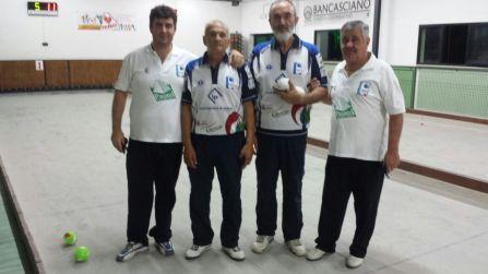 Asciano: ultima prova del torneo MEDIA ETRURIA - Foto A. Martini