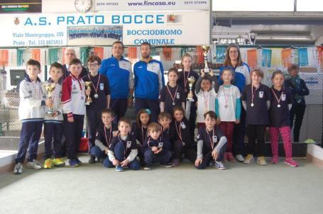 Coppa Bisenzio alla ASD Prato Bocce