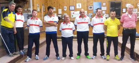 Coppa Italia raffa 2017 la squadra di Pistoia in finale