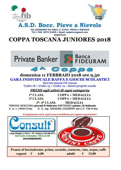 Coppa Toscana Pieve a Nievole 11 febbraio OK