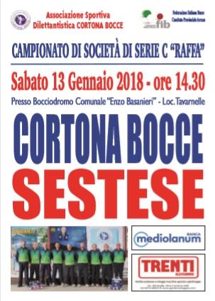Serie C Raffa Giornata 3 - Cortona-Sestese