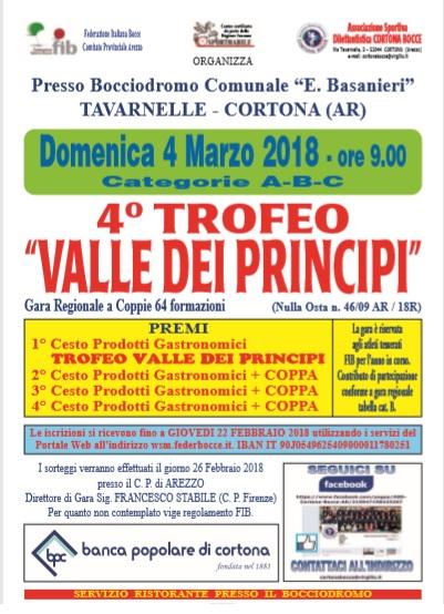 4 Trofeo Valle dei Principi Cortona 4 marzo