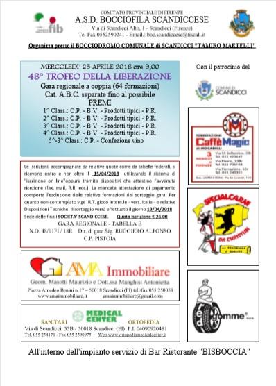 48 Trofeo Liberazione Scandicci 25 aprile