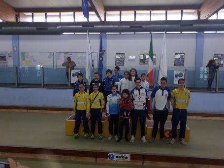 Coppa Toscana Juniores Migliarina 25 marzo podio tutti