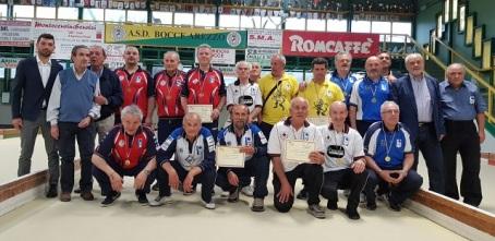 Camp Reg Arezzo 2018 - 5 maggio maschile B C coppia A Premiazioni RIDOTTA