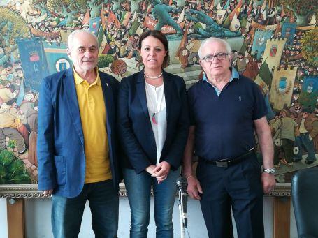 Mei Gosti Rossi Conf Stampa presentazione Parata 12 13 maggio Viareggio