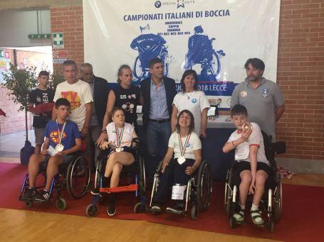 Campionati Italiani Boccia Lecce 8 luglio