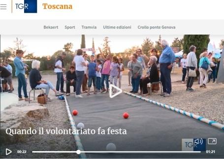 Bocce alla Festa del Volontariato di San Casciano TGR Toscana.jpg