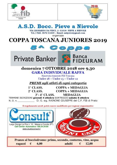Coppa Toscana Juniores 5 Coppa Banca Fideuram P Nievole 7 ottobre-001
