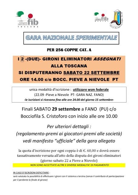 Manifesto Gara Nazionale FANO-001