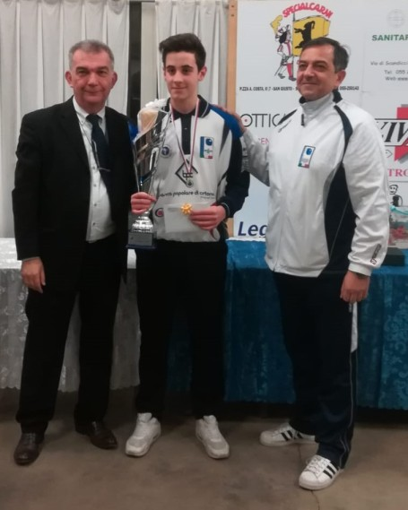 Coppa Natalina vince Giacomo Cecchi