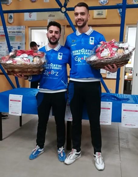 Coppa Affrico 2 dicembre 2018 primi Campisi Chirico Montecatini