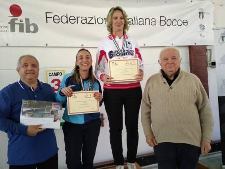 Camp Reg 2019 Femminile Raffa podio A Boguslawa Sebastiani