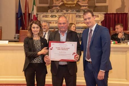 Lidio Barboni premiato a Cortona