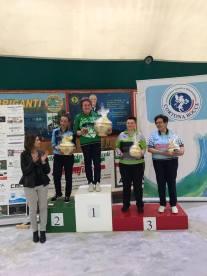 Citta di Cortona Gara Nazionale femminile finale Morresi-Sebastiani 10-8 (1)