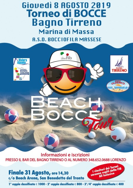 Beach Bocce 2019 Marina di Massa
