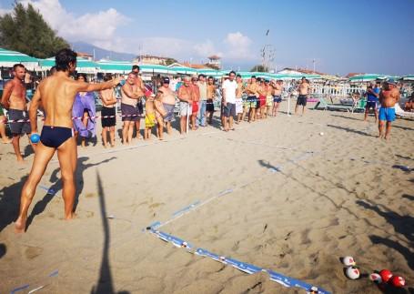 Beach Bocce 2019 Marina di Massa - Lancio