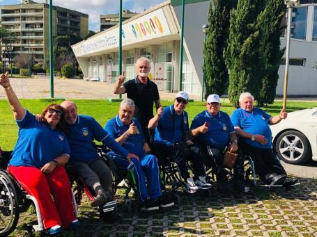 Campionati Paralimpici 2019 squadra PoHaFi