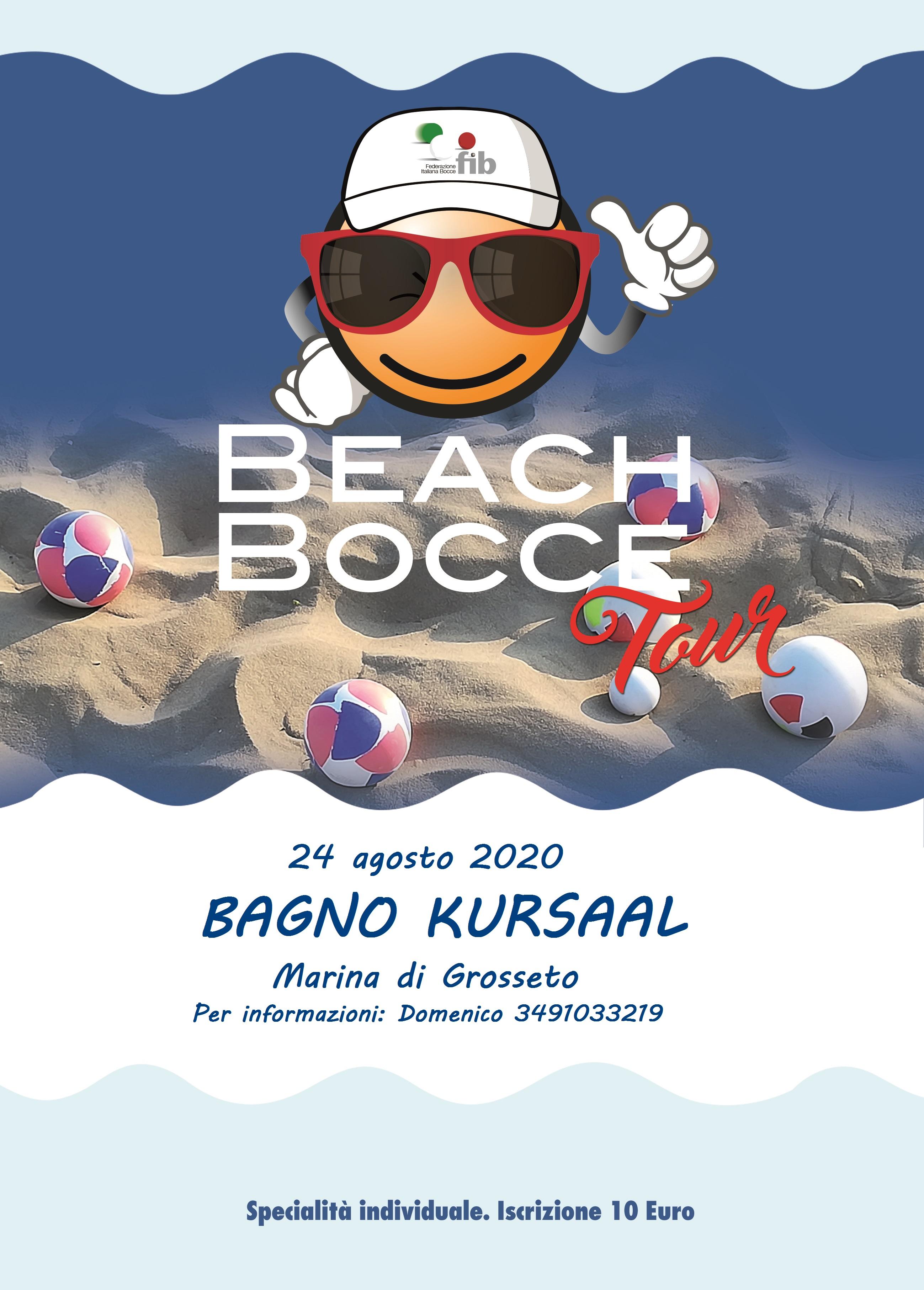Beach Bocce 2020 Kursaal 24 08 20